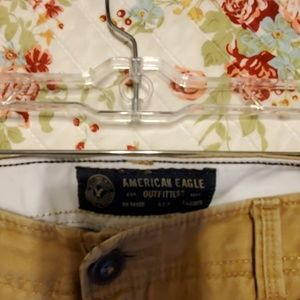 American Eagle Outfitters Pants - American Eagle 38/34 Khakis relaxed fit straight